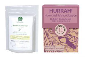 Semen Cuscutae - HURRAH Hormonal Balance Support - Linden Botanicals